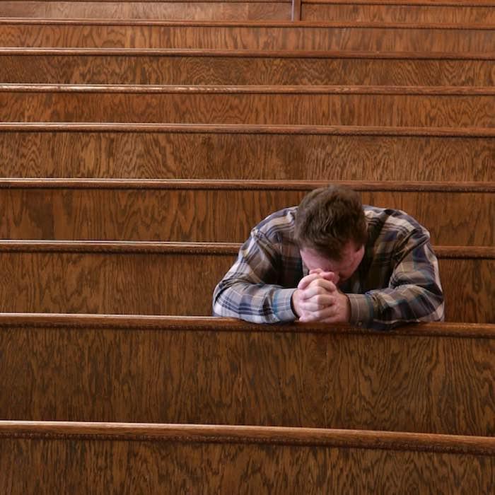 Экзистенциальное. Одиночество в церкви