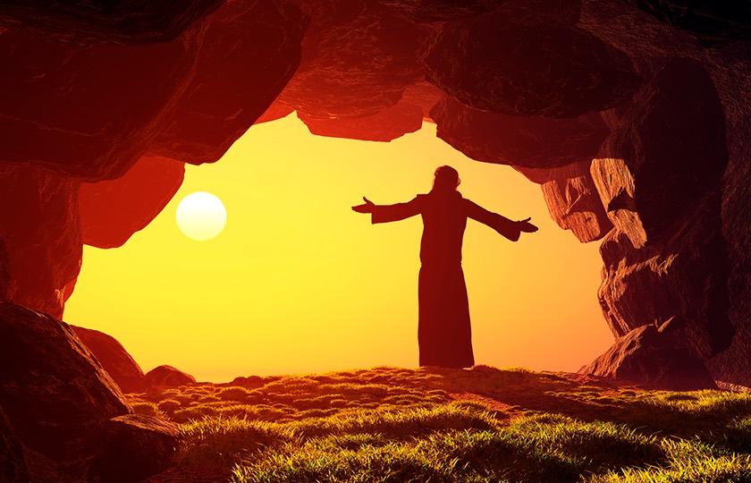 А вы не бойтесь! Он воскрес!